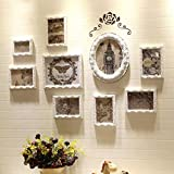 LQQGXL Modern simple photo wall solid wood photo frame living room children's room creative combination of objects Photo frame