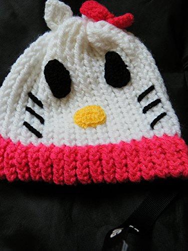 Crochet cap Hello -