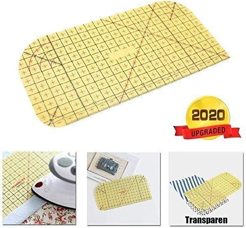 Hot Ironing Ruler Diy Patchwork Tailor Craft Sewing Measuring Tools 20//30CM