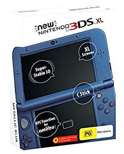 New Nintendo 3DS XL Console Blue