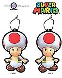 Nintendo OFFICIAL Super Mario Bros. Toad Air Freshener - New Car Smell