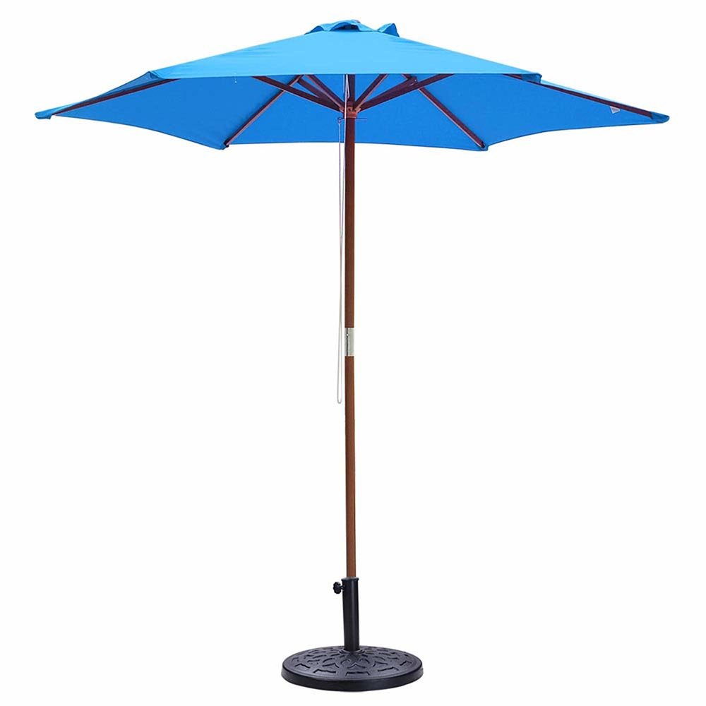 Yescom 18-inch 20-lbs Round Umbrella Base Heavy Stand Holder Fit for 8ft 9ft Patio Garden Umbrella Black