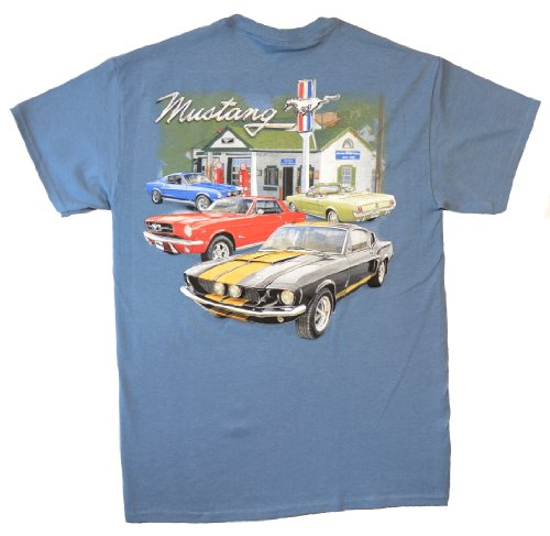 1964 To 1968 Ford Mustang, Convertible & Fastback Mens T-Shirt by Joe Blow T's