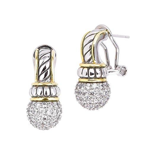 David Yurman Pave Earrings - 1