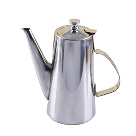 SJQ-coffee pot Cafetera de Acero Inoxidable - Boca Larga ...