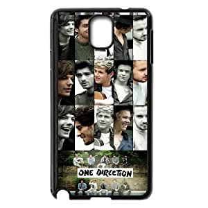 Music Band One Direction Pattern Productive Back Phone Case For Samsung Galaxy NOTE4 Case Cover -Style-5