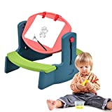 COSTWAY Children Drawing Table Chair Set SBP-292