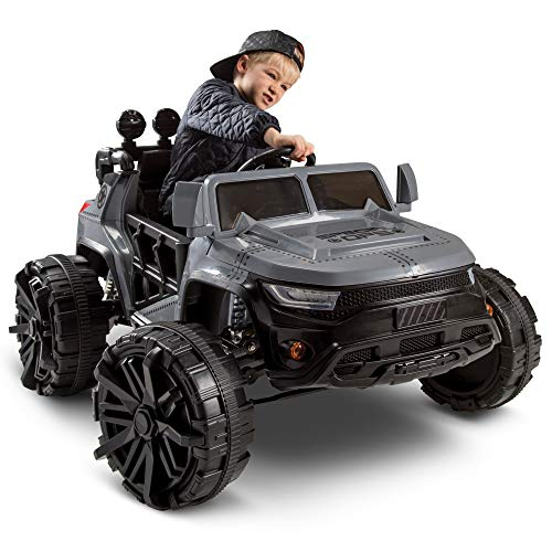 Huffy Kids Battery-Powered Ride On Car Special Ops w/ Lights, Sounds & MP3 Player (Monster Sound Truck)