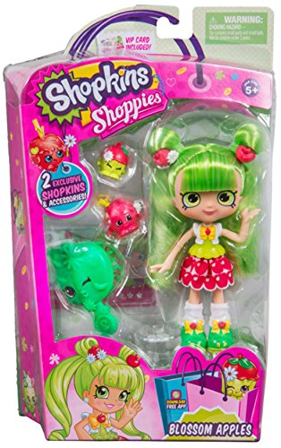 Shopkins Shoppies Season 3 Dolls Single Pack - Apple