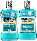 Listerine Cool Mint Listerine Antiseptic Mouthwash (2 X 1.5lt)