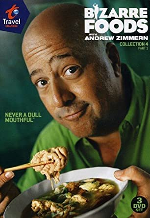 Amazon com: Bizarre Foods With Andrew Zimmern: Coll 4 Pt 1