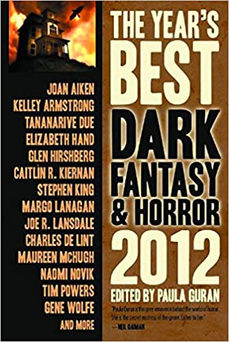 Image result for the year's best dark fantasy and horror 2012 book cover