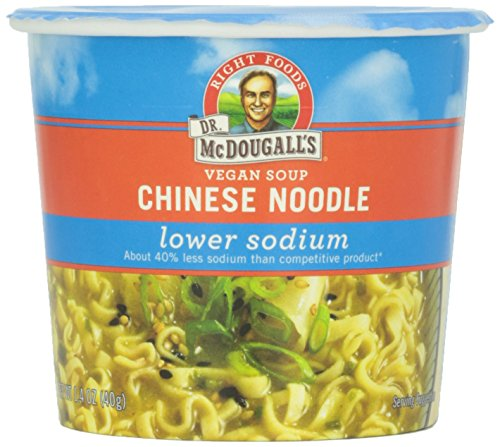 Dr. McDougall's Low Sodium Chinese Chicken Noodle Soup Cup, 1.4 oz