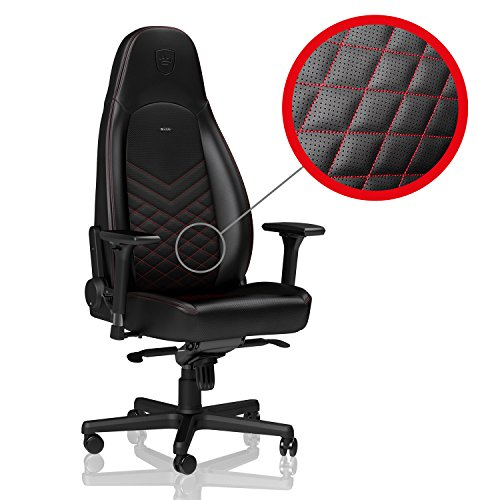 noblechairs ICON - Black/Red - Gaming Chair / Office Chair / Desk Chair by noblechairs