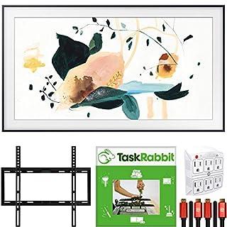 """SAMSUNG The Frame 3.0 32"""" QLED Smart 4K UHD TV (2020) + TaskRabbit Installation Bundle"""