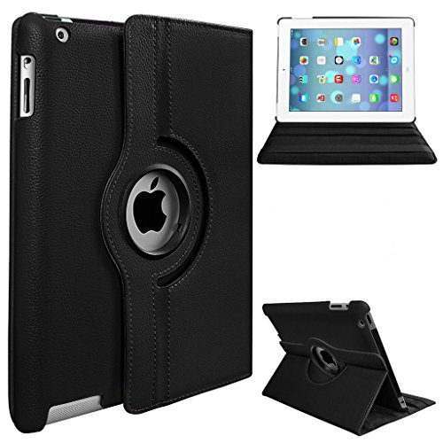 Next 360 Degree Rotating Case with Automatic Wake/Sleep for Apple iPad 2 / 3 / 4 with Retina