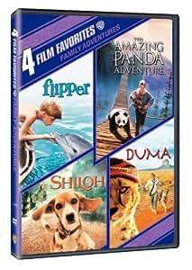 4 Film Favorites: Family Adventures (The Amazing Panda Adventure, Duma, Flipper, Shiloh)