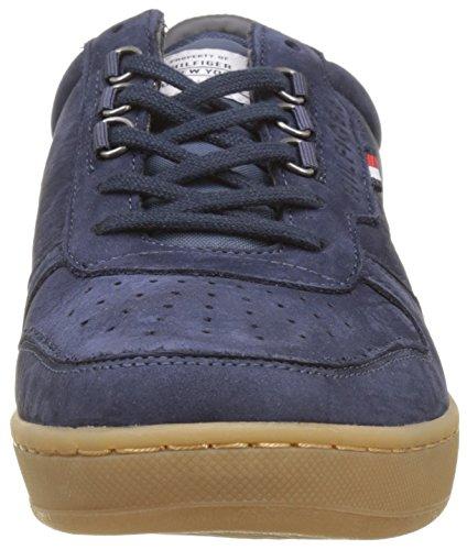 Hilfiger Basses Indigo 1n Bleu Homme H2285oxton Baskets Tommy Vintage dBSwnqIpd1