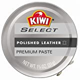 leather boot polish - Kiwi SELECT Premium Paste, Clear, 1.125 oz