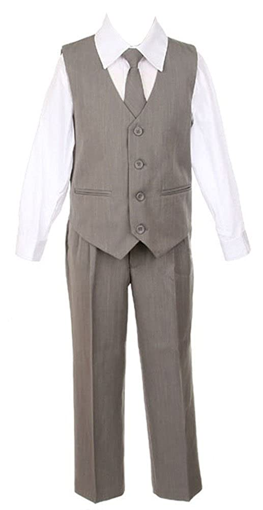 Sweet Kids Boys 3 Button Dinner Suit 20 Grey Sk M104C