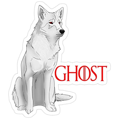 B. Strange Mall Ghost Game of Thrones Stickers (3 Pcs/Pack): Kitchen & Dining
