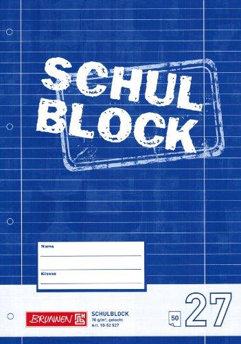 Schreibblock / Schulblock 27