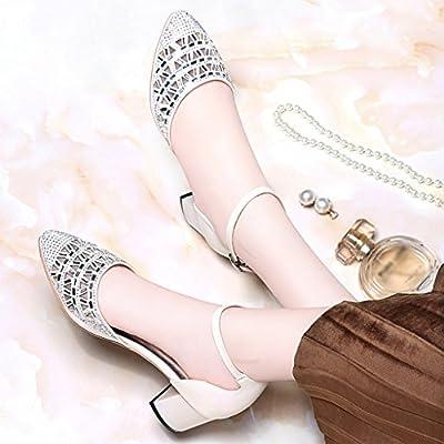 2b3ae86bc9ed6f Chaussures femme HWF Sandales Femelle D'été Mode Femmes Chaussures Pointu Talons  Hauts (Couleur