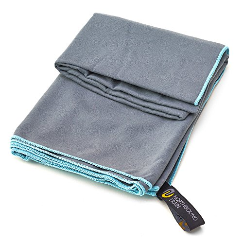 Microfiber Towel Kit: Fast Drying Microfiber Towel Set For Gym, Travel, Camping