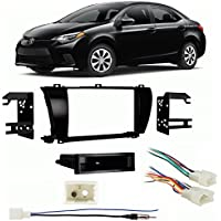 Fits Toyota Corolla 2014 Multi DIN Aftermarket Harness Radio Install Dash Kit