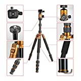 Top-Fotos Max Load 10KG Multi-Function Aluminum Monopod Tripod Stand Photo Camera Video