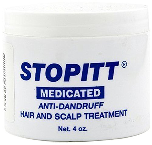 Stopitt Medicated Anti-Dandruff Hair & Scalp Treatment, 4 Ounce Dandruff Remover