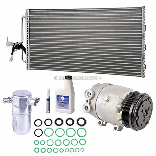 A/C Kit w/AC Compressor Condenser & Drier For Oldsmobile Intrigue 1999-2002 - BuyAutoParts 60-89780CK New