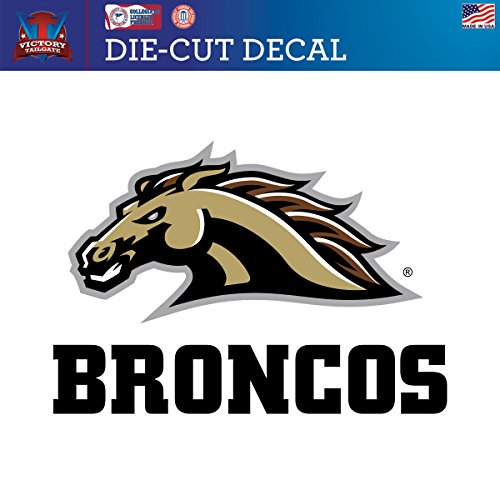 Western Michigan Broncos Wall (Western Michigan University Broncos Die-Cut Vinyl Decal Logo 1 (Approx)