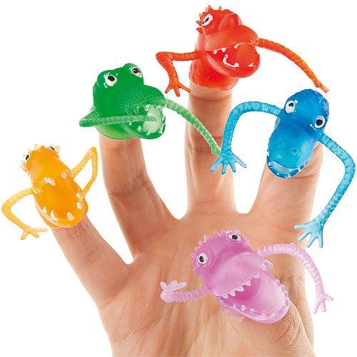 Marionetas de Monstruos para Dedos Pequeños Juguetes Perfectos como Relleno de Piñata