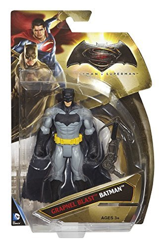 Batman v Superman: Dawn of Justice 6-Inch Grapnel Blast Batman Action Figure Wave 2