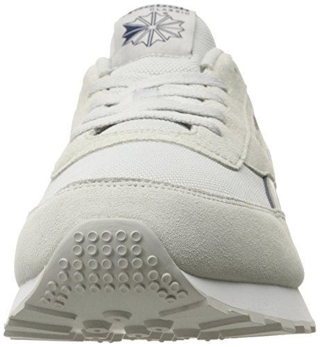 Reebok Mens Classic Renaissance St Fashion Sneaker Us-skull Grey / Collegiale Navy / White / Sil Met
