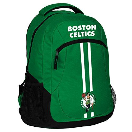 FOCO NBA Boston Celtics Unisex Action Backpack -