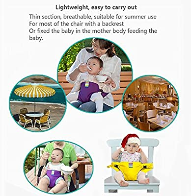 Toddler High Chair Harness Belt Portable Feeding Booster Seat Strap for Traveling Shopping Home Restaurants Cozyhoma Baby Dining Chair Safety Seats Straps