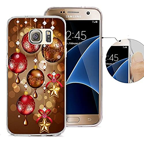 S7 Case Samsung Galaxy S7 Case Viwell TPU Soft Case Rubber Silicone Gorgeous Christmas Sales