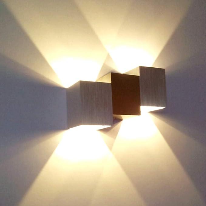 6W Led Wandleuchte Innen Wandlampe Elegant Wandstahler aus Acylic up down licht