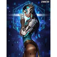 XXW Artwork Overwatch Symmetra Poster Character/Support type Prints Wall Decor Wallpaper