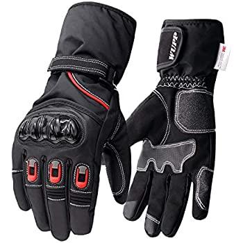 Amazon.com: WUPP Motorcycle Gloves Winter Warm Touch