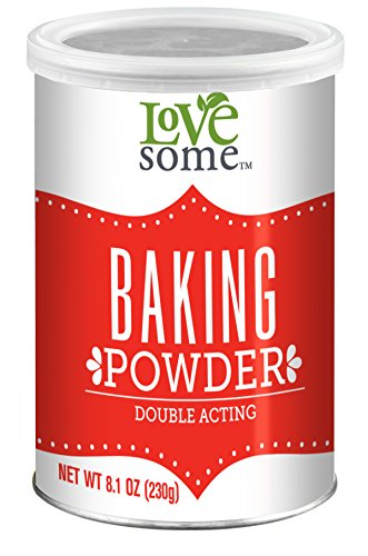 Baking Powder Leavening Agent - LoveSome Baking Powder, 8.10 Ounce