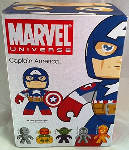 Marvel Mighty Muggs Series 5 Figure Ultimate Captain America Hasbro