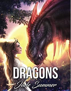 Dragons An Adult Coloring Book With Fun Beautiful And Relaxing Pages