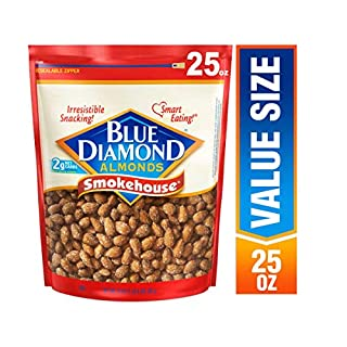 Blue Diamond Almonds, Smokehouse, 25 Ounce