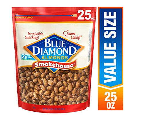 Blue Diamond Almonds, Smokehouse, 25 Ounce (Honey Smoked Fish)