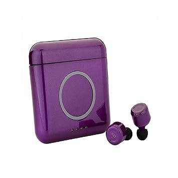 LICIDI Auriculares Inalámbricos Reales Bluetooth V4.2 Mini Touch Auriculares Dobles Reducción De Ruido Estéreo Llamada Binaural Teléfono Inalámbrico Carga ...