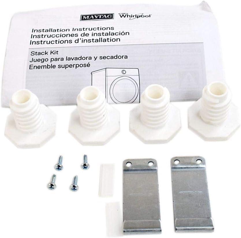 Whirlpool W10869845 Stack Kit For Standard & Long Vent Dryer