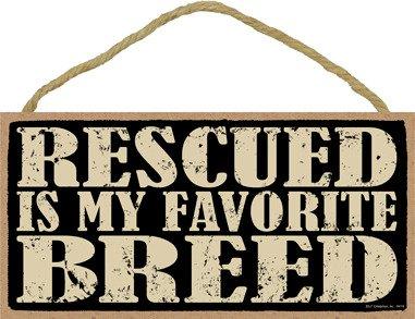 SJT ENTERPRISES, INC. Rescued is My Favorite Breed 5